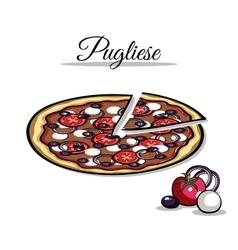 PizzaIngredient1 vector image