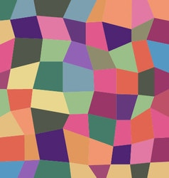 Color block abstract background vector