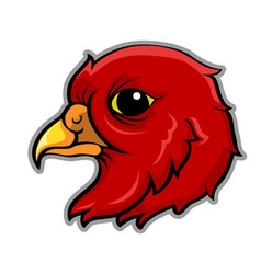 Bird head vector