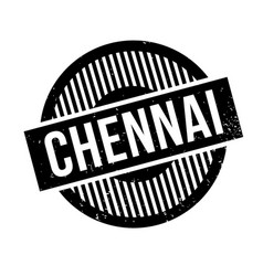 Chennai rubber stamp vector