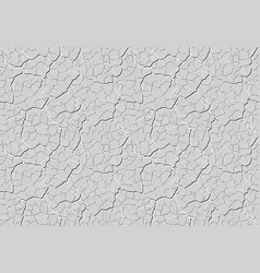 Grey decorative plaster is similar to clay with vector