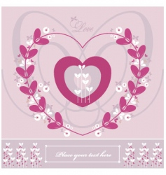 love wedding vector image vector image
