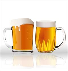 beer handles vector image