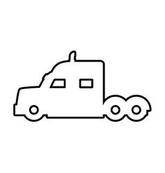 Truck icon transportation design graphic vector