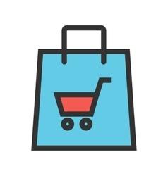 Ecommerce website vector