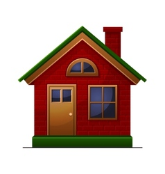 House icon isolated on white background vector image