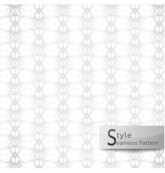 abstract seamless pattern floral lattice point vector image