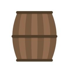 Beer barrel beverage drink icon vector
