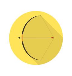 Bow and arrow vector