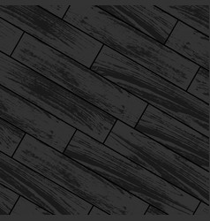 Dark wooden laminate vector