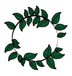 leaf or leaves icon image vector image
