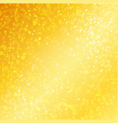 Luxury golden background with bokeh defocused vector