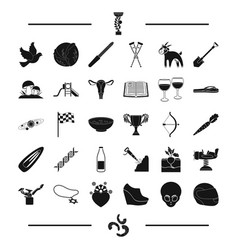 Gynecology reward space and other web icon in vector