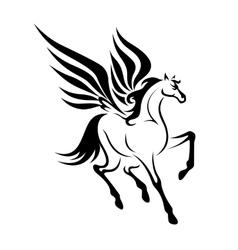 Pegasus horse vector image