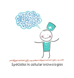 Specialist in cellular technologies thinks of vector