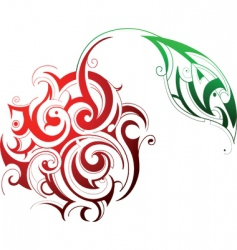 tribal graphics vector image vector image