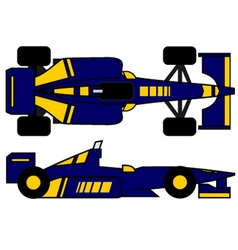 Racing vehicle vector