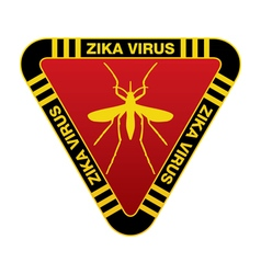 Zika virus sign vector