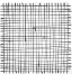 grid made with grayscale bubble pattern over white vector image vector image