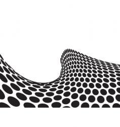 half pipe wave vector image vector image