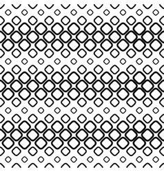 Seamless monochrome cobble stone pattern vector