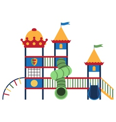 Kids playground and related items vector image