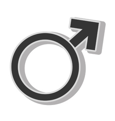 man gender sign vector image vector image