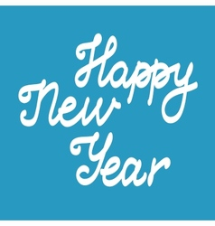 New year card concept vector image vector image
