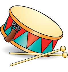 Toy drum vector