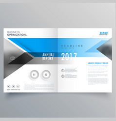 Brochure template layout booklet cover design vector