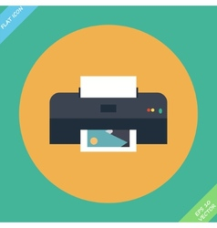 Printer icon - vector