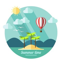 Summer time vector