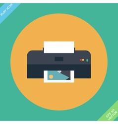 Printer icon - vector