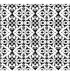 seamless pattern background three vector image