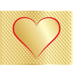 card for Day of Valentine vector image