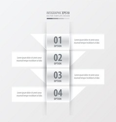Design banner modern white color vector