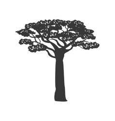 Tree icon plant and nature design graphic vector