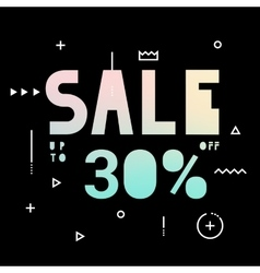Banner for the black friday sale vector