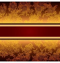 Floral decorative background template frame design vector