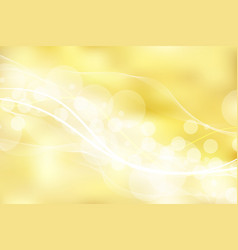gold background and texture with bokeh curve vector image