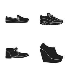 Macadoles on the sole sneakers with laces men s vector