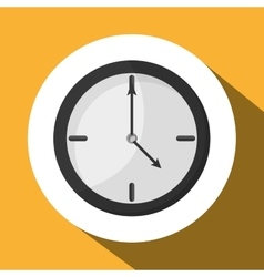 Time icon design vector image vector image