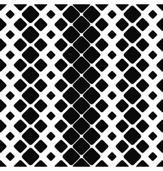 Seamless monochrome paving stone pattern vector