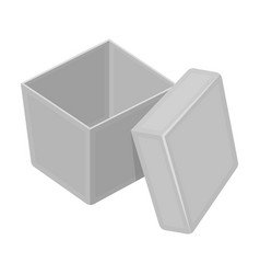 box packing paper and other web icon in vector image