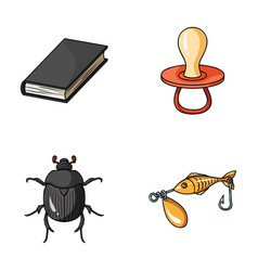 Education animal and other web icon in cartoon vector