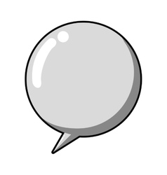 Bubble icon communication design graphic vector