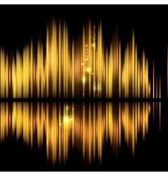 Abstract technology background-shiny sound vector image