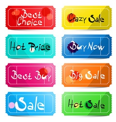 Best Choice - Crazy Sale - Hot price - Buy Now - vector image