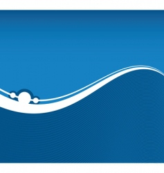 flowing background vector image vector image
