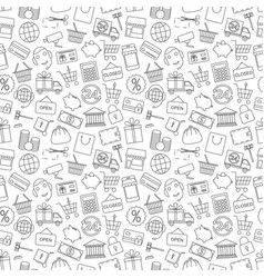 Seamless pattern business vector